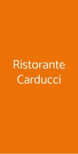 Ristorante Carducci, Bari