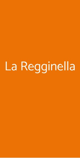 La Regginella, Pisa