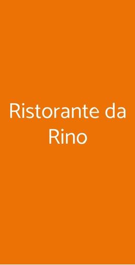 Ristorante Da Rino, Pisa