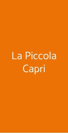 La Piccola Capri, Pisa
