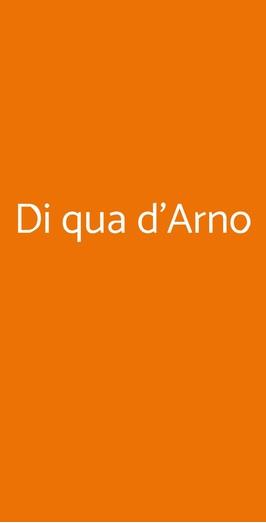 Di Qua D'arno, Pisa