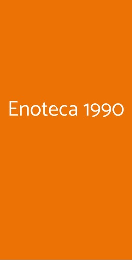 Enoteca 1990, Adelfia