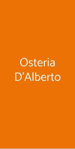 Osteria D'alberto, Brissago-Valtravaglia