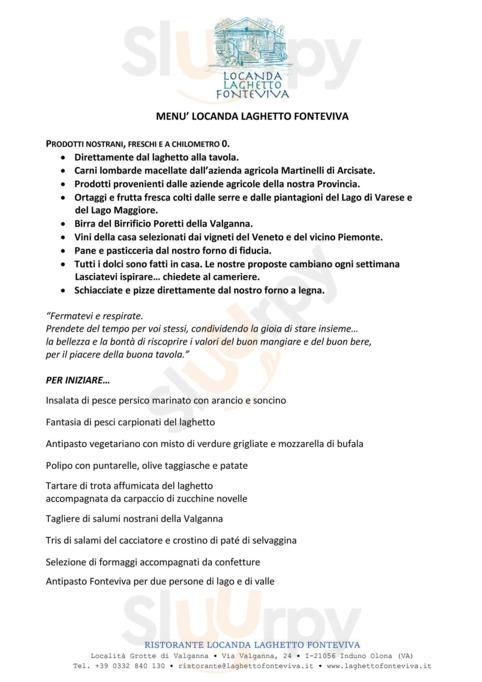 Locanda Laghetto Fonteviva, Induno Olona