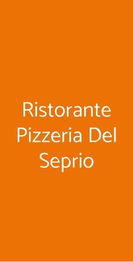 Ristorante Pizzeria Del Seprio, Castelseprio