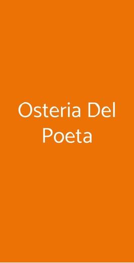 Osteria Del Poeta, Alberobello