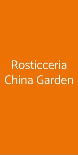 Rosticceria China Garden, Busto Arsizio