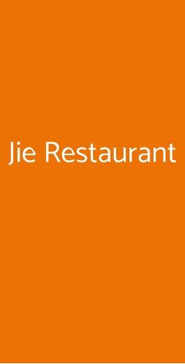 Jie Restaurant, Saronno