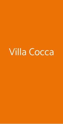 Villa Cocca, Gavirate