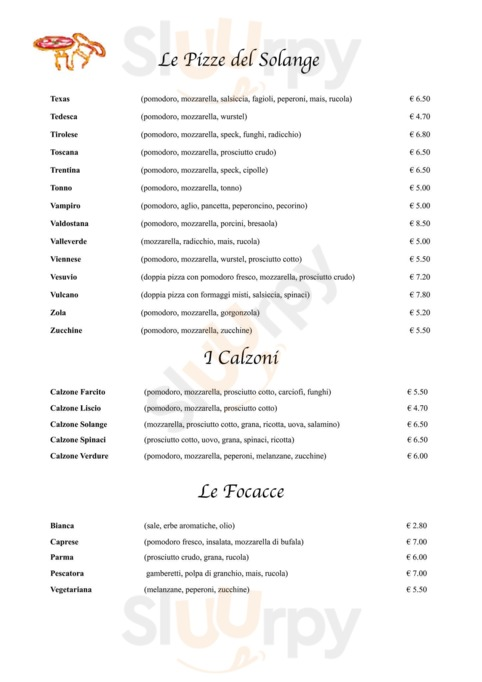 Ristorante Pizzeria Solange, Samarate