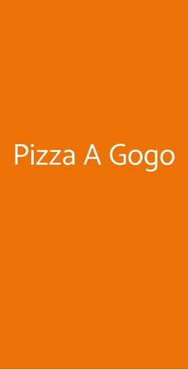 Pizza A Gogo, Bari