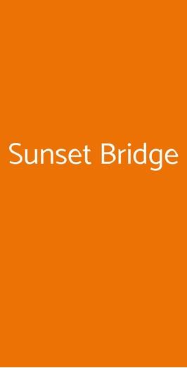 Sunset Bridge, Lonate Pozzolo