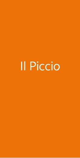 Il Piccio, Bari