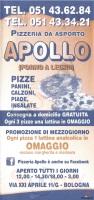 Pizzeria Apollo, Bologna