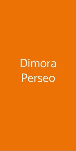 Dimora Perseo, Castellana Grotte