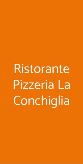 Ristorante Pizzeria La Conchiglia, Varese
