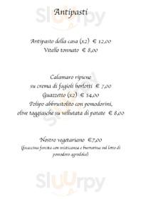 Menu Trattoria Pizzeria Cavour
