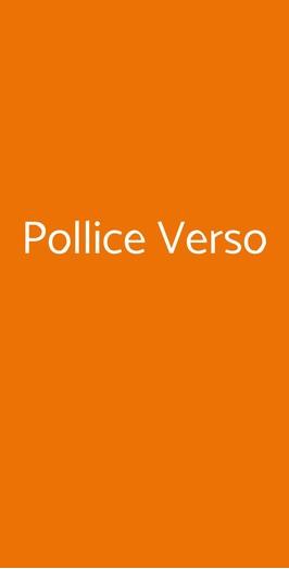 Pollice Verso, Solbiate Olona
