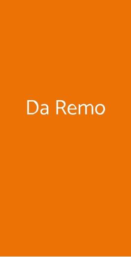 Da Remo, Monsummano Terme