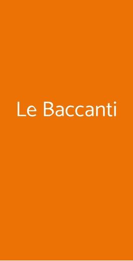 Le Baccanti, San Marco Argentano
