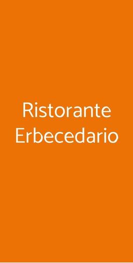 Ristorante Erbecedario, Badia Calavena
