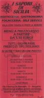 I Sapori Di Sicilia, Bergamo