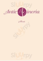 Menu Antica Vineria