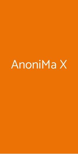 Anonima X, Castelnuovo Berardenga