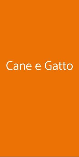 Cane E Gatto A Siena Menù Prezzi Recensioni Del Ristorante