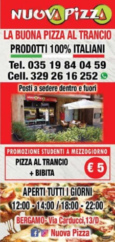 Nuova Pizza, Bergamo