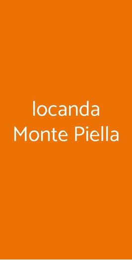 Locanda Monte Piella, Porretta Terme