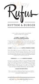 Rufus Rhythm & Burger, Porretta Terme