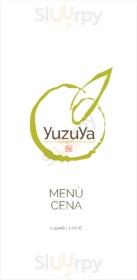 Menu YuzuYa