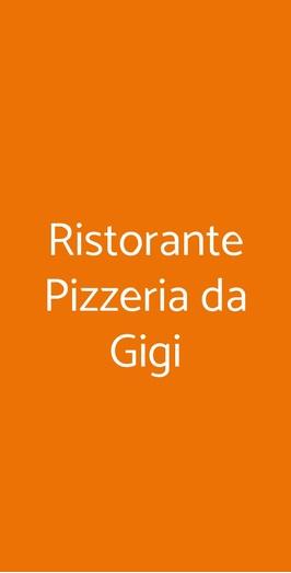 Ristorante Pizzeria Da Gigi, Bologna