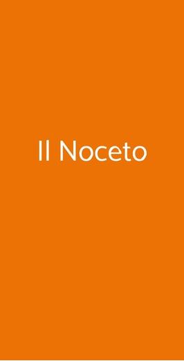 Menu Il Noceto