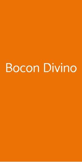 Bocon Divino, Bagnacavallo