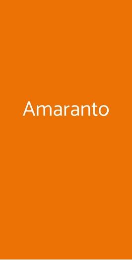 Amaranto, Ravenna