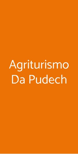 Agriturismo Da Pudech, Ravenna