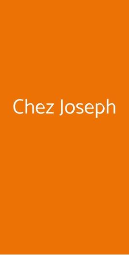 Chez Joseph, Faenza