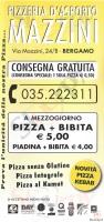 Mazzini, Bergamo