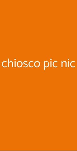 Chiosco Pic Nic, Faenza