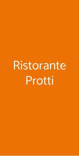 Ristorante Protti, Cattolica