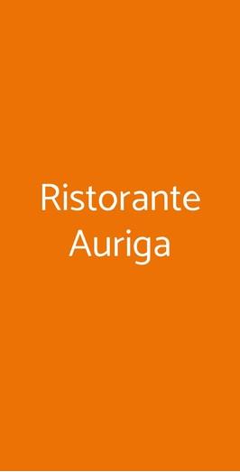 Ristorante Auriga, Rimini