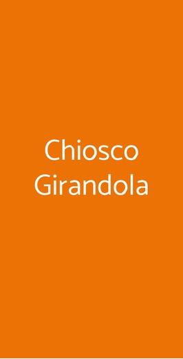 Chiosco Girandola, Faenza