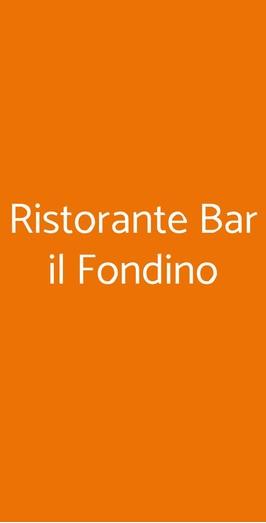 Ristorante Bar Il Fondino, Misano Adriatico