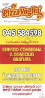 Pizzavoglia, Via Quattro Rusteghi, Verona