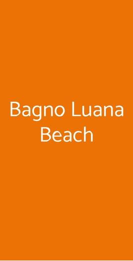 Bagno Luana Beach, Marina di Ravenna