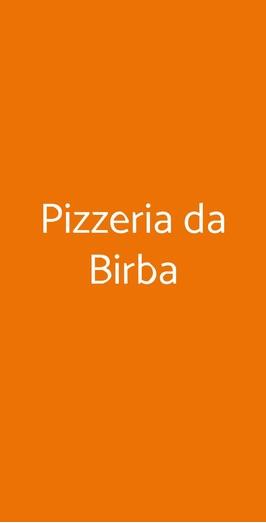 Pizzeria Da Birba a Rimini - Menù, prezzi, recensioni del ristorante