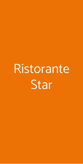 Ristorante Star, Cattolica