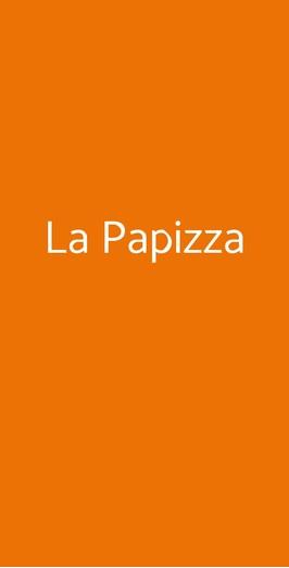Menu La Papizza